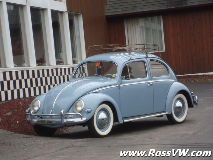 1956 VW Beetle Deluxe Oval Window Sedan - RossVW.com