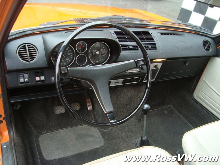 1972 VW K70 Sedan in the USA - www.RossVW.com!