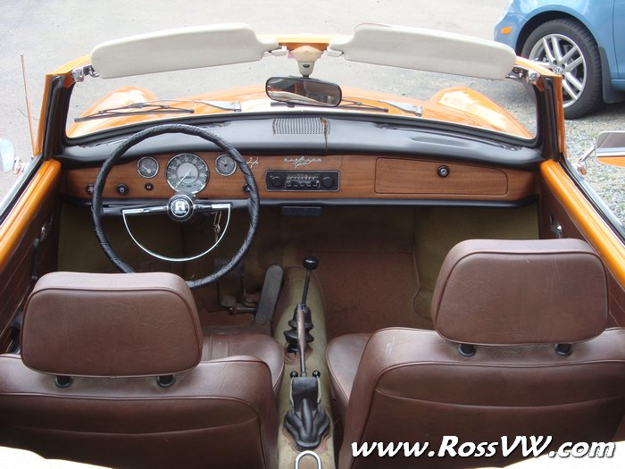 Auto Driving Car >> 1971 VW Karmann Ghia Convertible AutoStick - RossVW.com