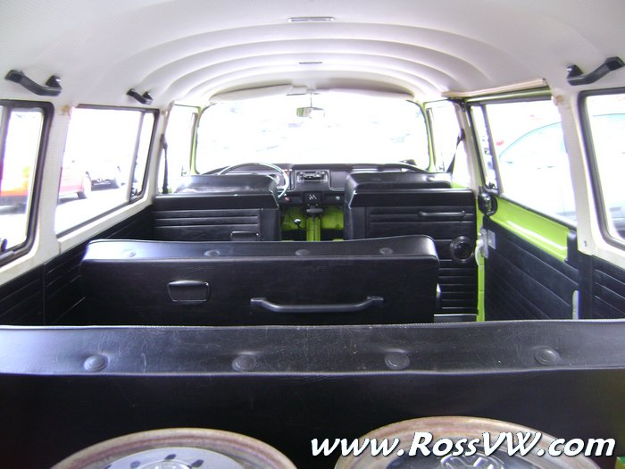 1973 VW Bus - Factory Lime Green Apple Green two tone with ...