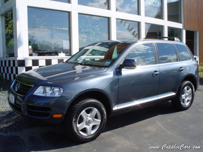 2005 Offroad Grey Vw Touareg V6 For Sale In Nh New