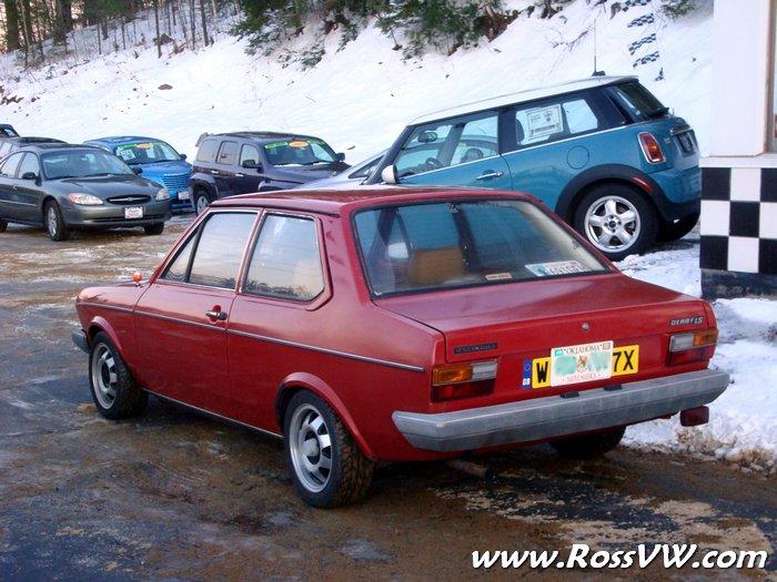 Volkswagen Of America >> 1981 VW Derby RHD Facelifted MK1 - RossVW.com!!