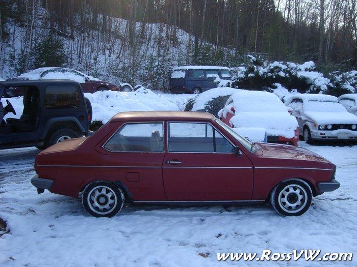 1981 VW Derby RHD Facelifted MK1 - RossVW.com!!