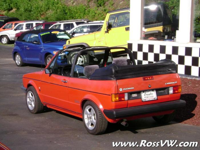 1985 VW Cabriolet